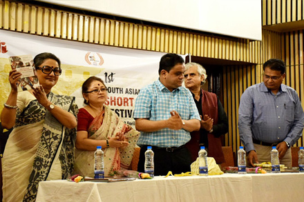 The Book release at Nandan - Kolkata.